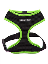 Active Mesh Neon Green Harness - Get fit, stay safe, stay seen. Treat your training buddy to an attractive new Active Mesh Harness with a dash of sporty neon to compliment your keep fit gear. But also great for regular walkies.High visibility Active Mesh Neon Harnesses provide the ultimate in comfort and safety, featuring a breatha...