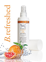All Natural Grapefruit & Sweet Orange Dog Spritz (200ml) - Our all natural grapefruit and organic sweet orange oil spritz is used to refresh and condition coats leaving them smooth and silky with the zesty citrus scent. The organic sweet orange and grapefruit essential oils will give the hair extra shine whilst providing a delicious refreshing juicy odour....