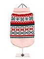 Oyster Pink Fair Isle Vintage Sweater